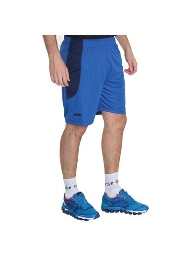 Sportive Şort Mavi